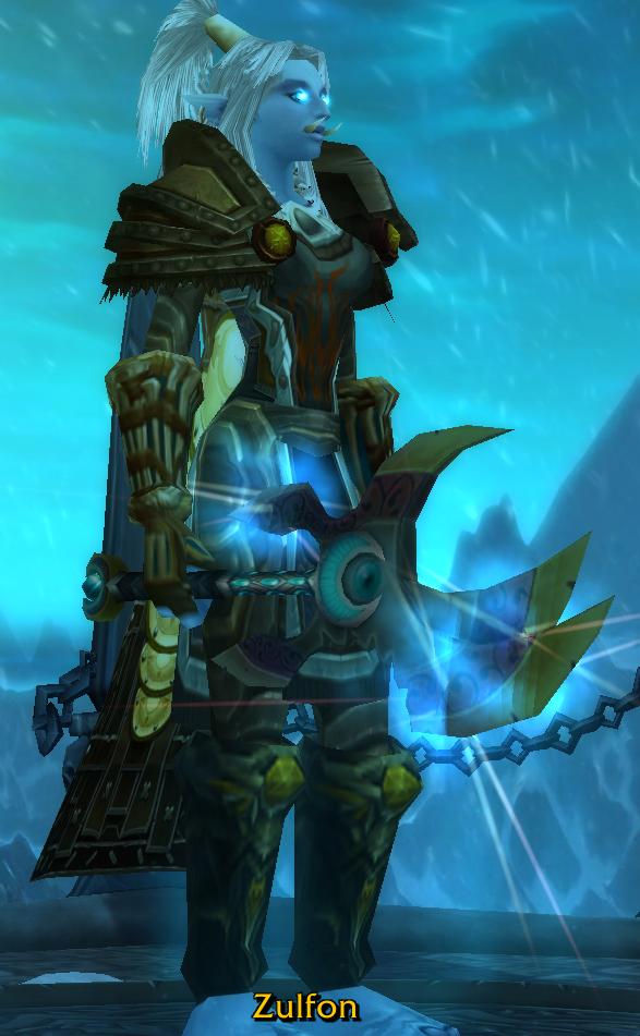 Zulfon 'wielding' Bloodmoon