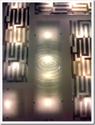 Gyllen wall lights, at Ikea
